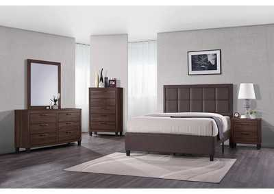 Grey Panel Twin Bed