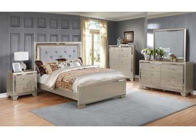 Rozzelli Pearl Panel Queen Bed