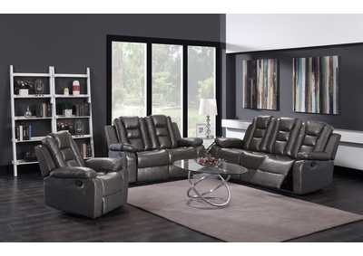 Grey Sofa & Loveseat & Recliner