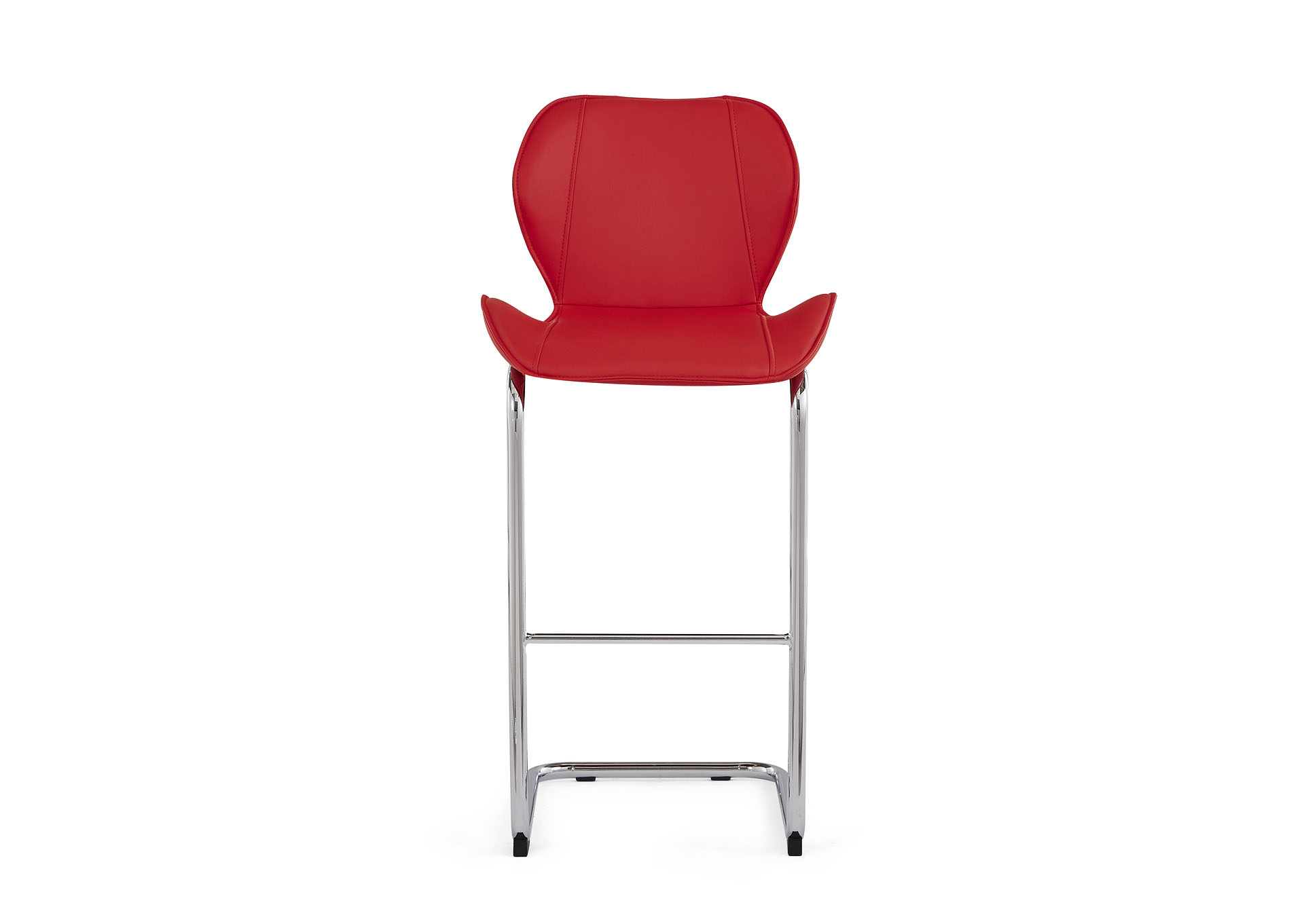 Red Set Of 4 Barstools,Global Furniture USA