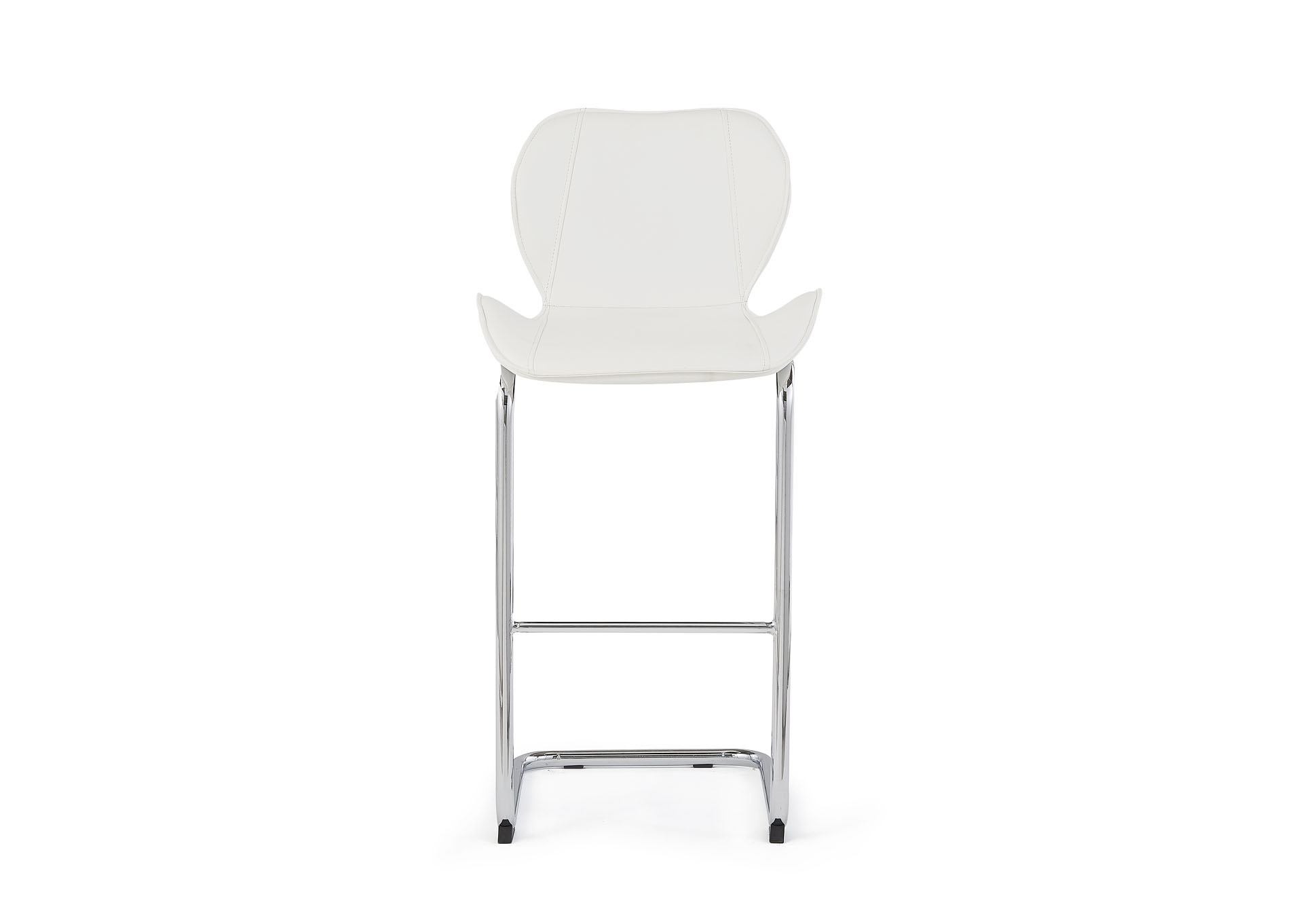 White Set Of 4 Barstools,Global Furniture USA