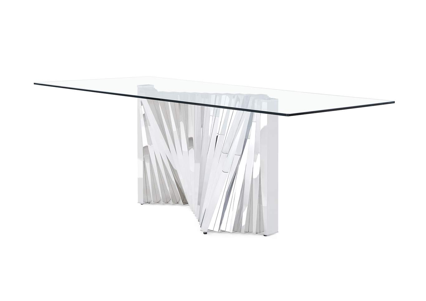 Stainless Steel Dining Table,Global Furniture USA