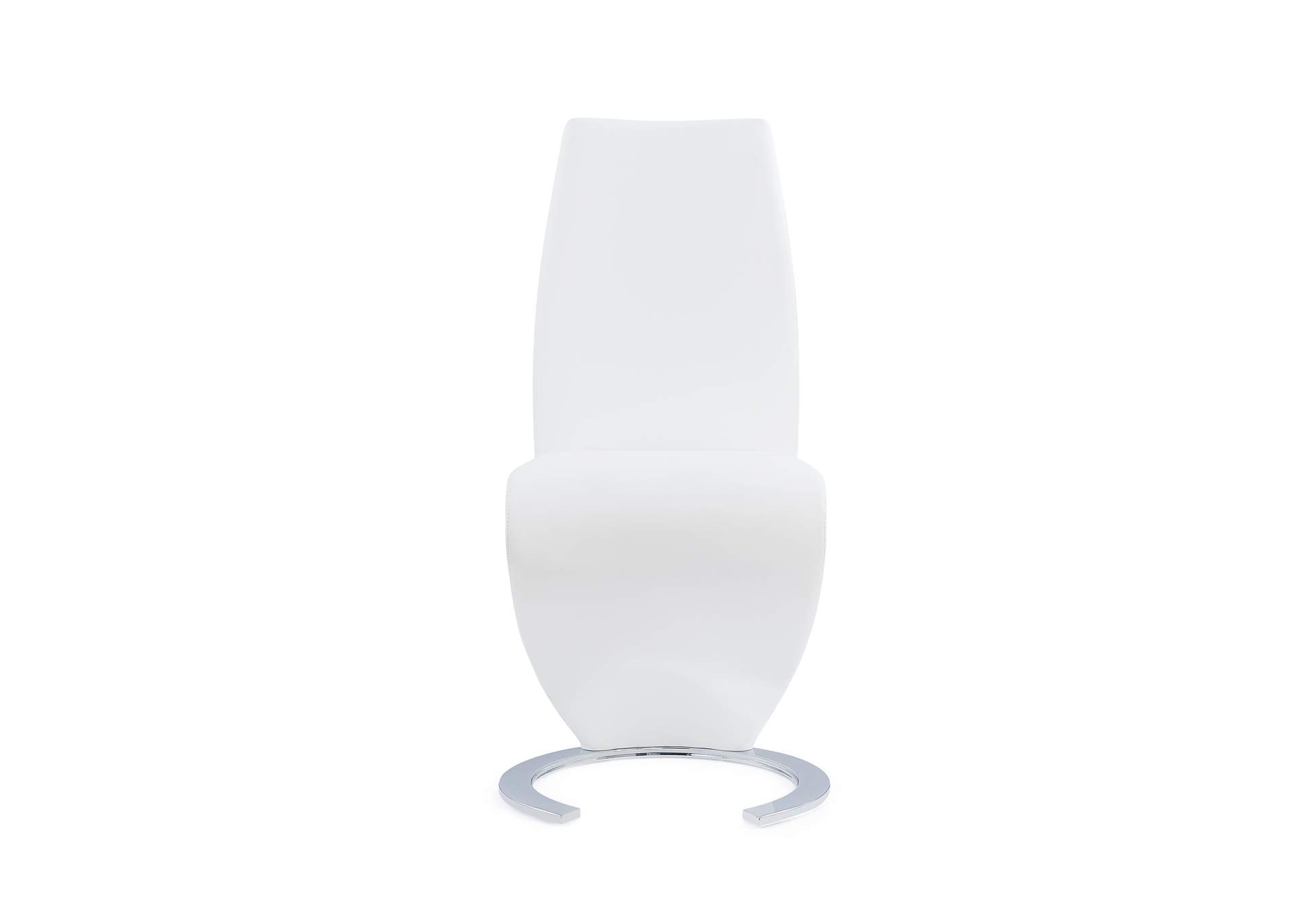 White Set Of 2 Dining Chairs,Global Furniture USA