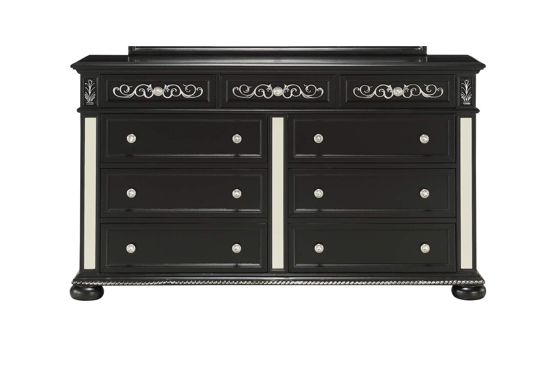 Diana Black Dresser,Global Furniture USA