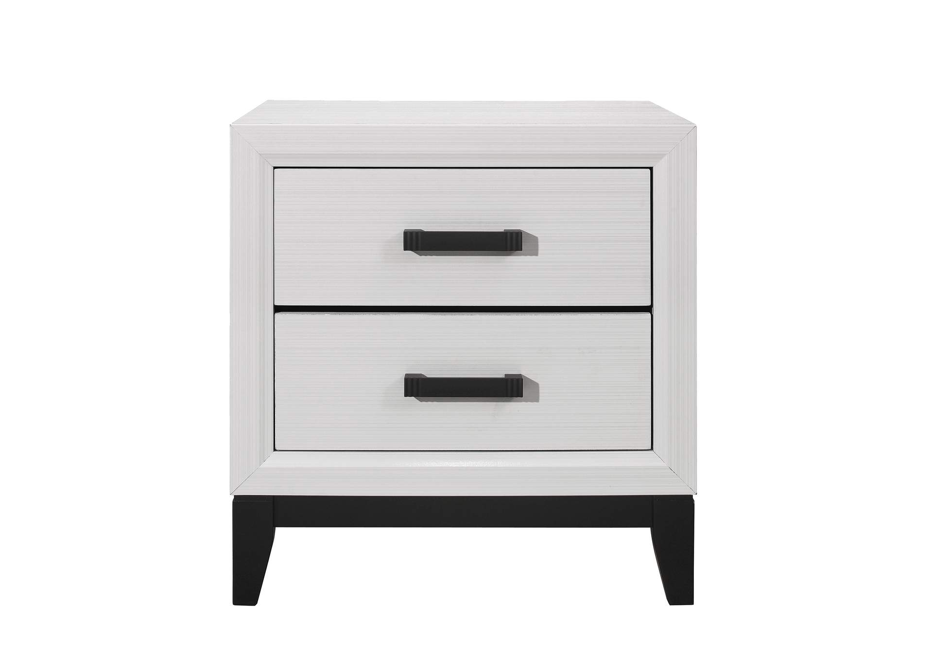 Kate White Nightstand,Global Furniture USA