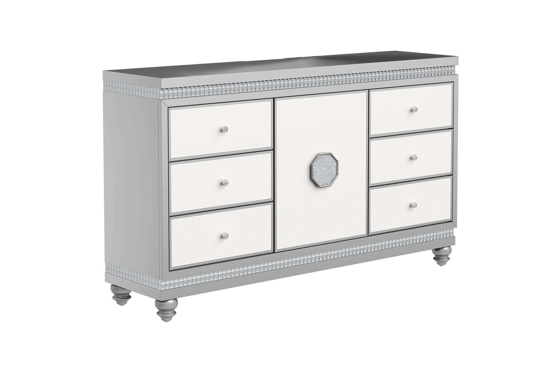 Kylie White Dresser Jerusalem Furniture Philadelphia