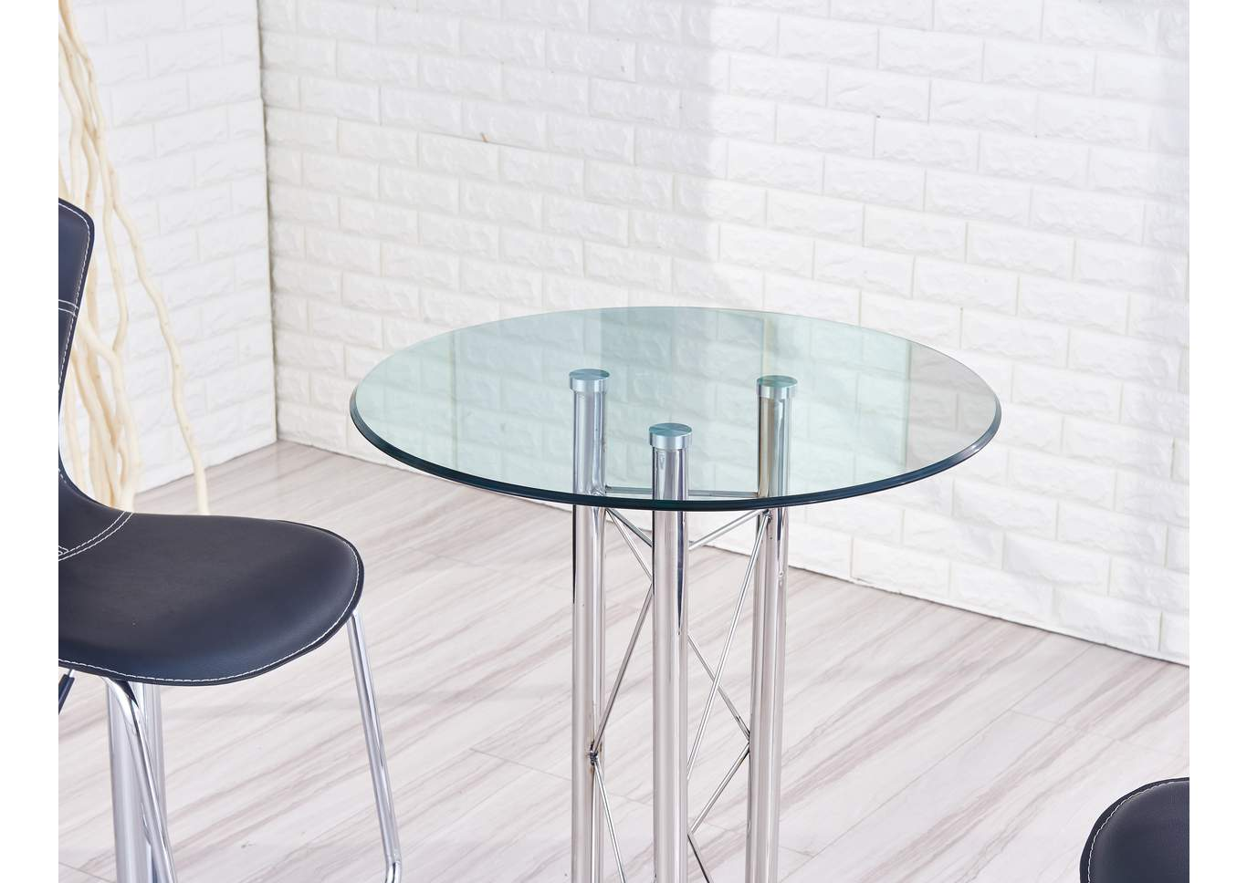 Black Bar Table,Global Furniture USA