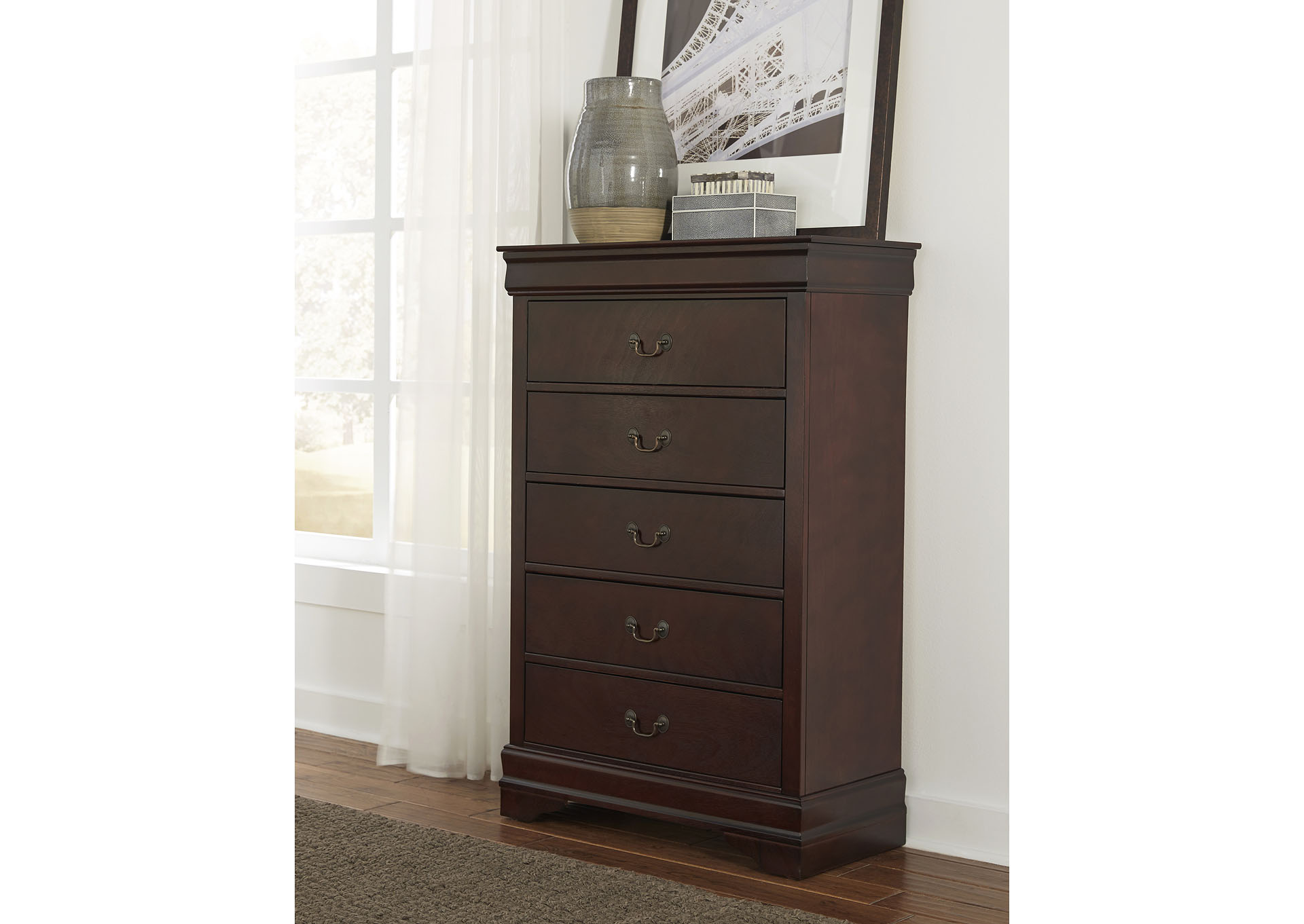Marley Merlot Chest,Global Furniture USA