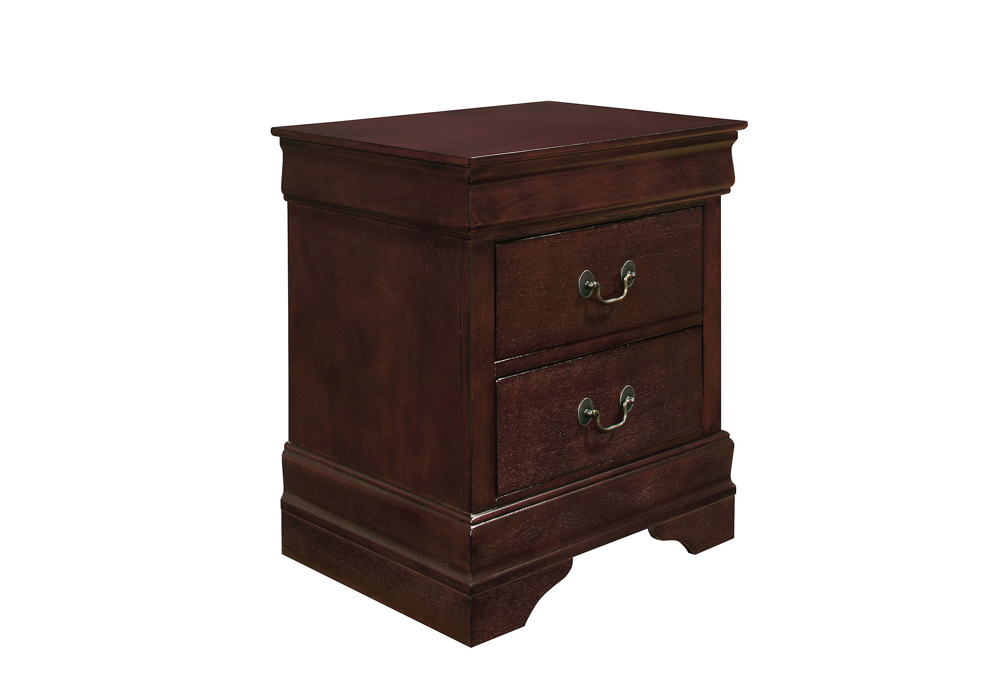 Marley Merlot Nightstand,Global Furniture USA