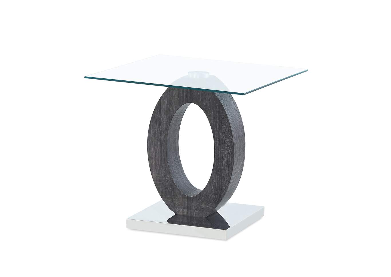 Grey End Table,Global Furniture USA