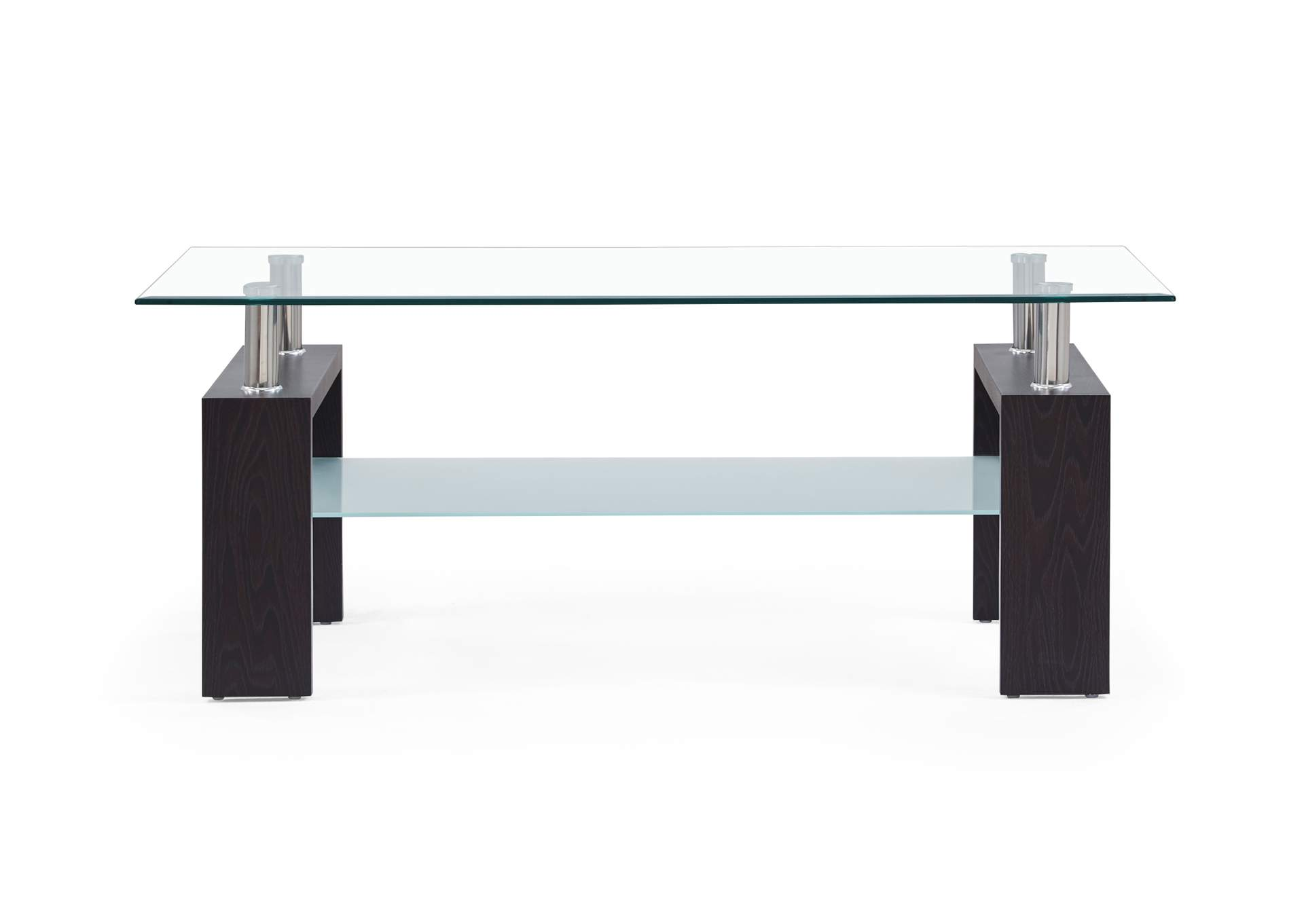 Dark Walnut Coffee Table,Global Furniture USA