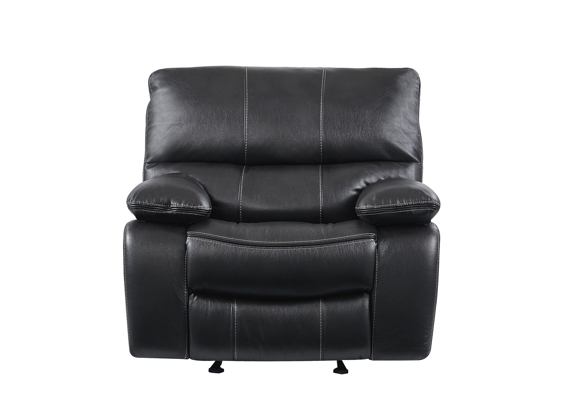 Grey/Black Glider Recliner,Global Furniture USA
