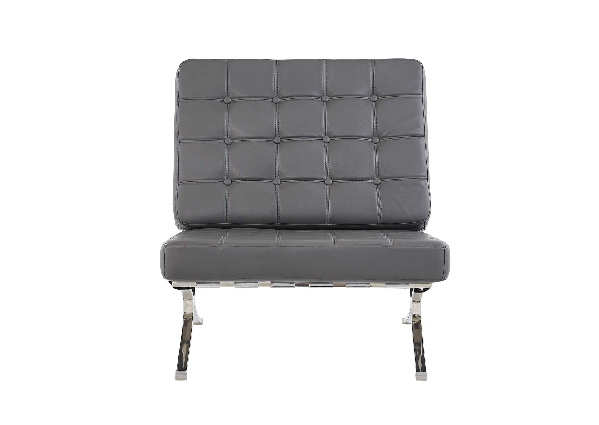 Natalie Grey Chair,Global Furniture USA
