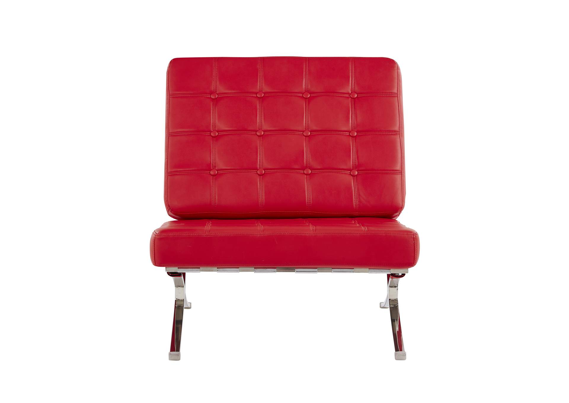 Natalie Red Chair,Global Furniture USA