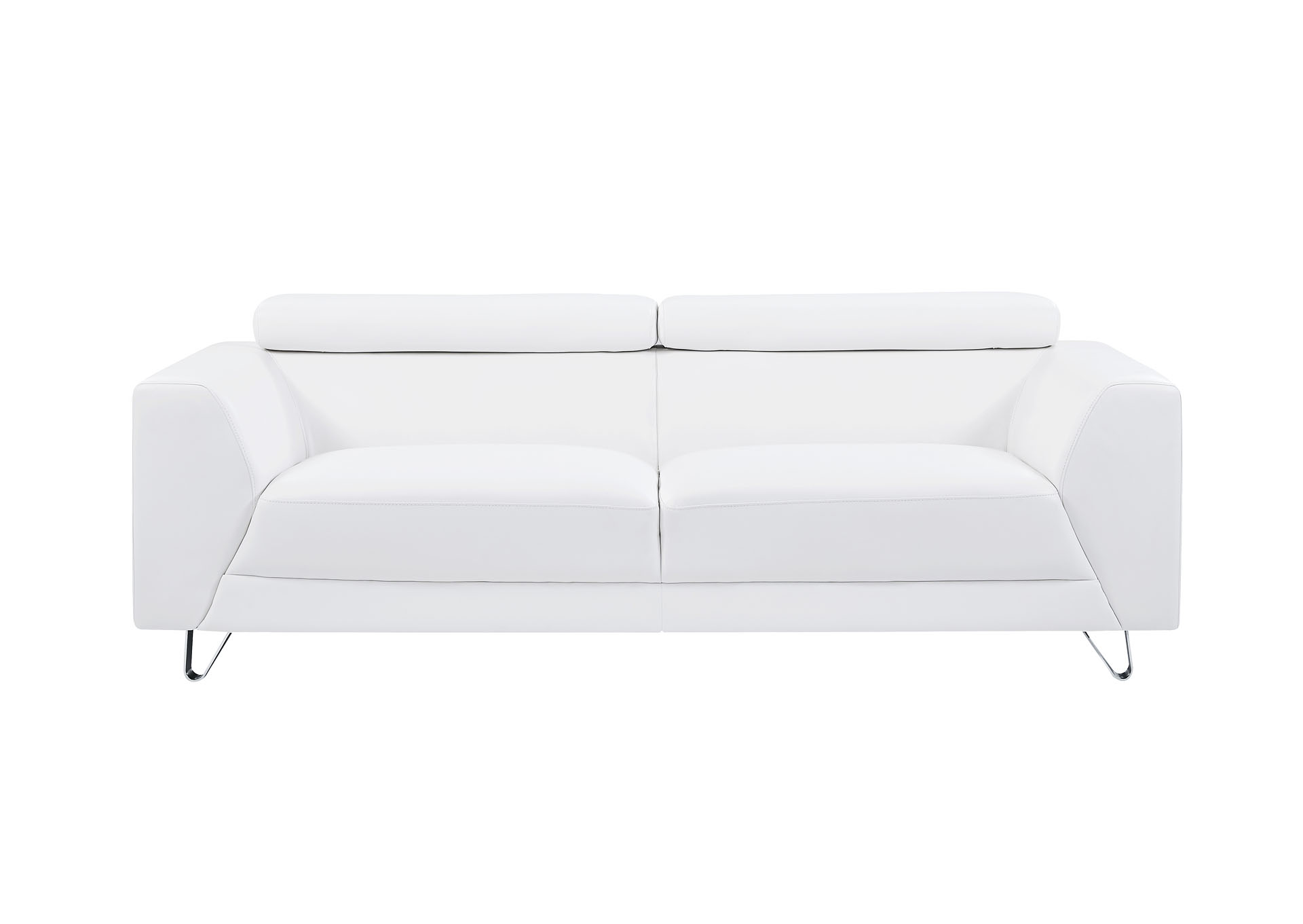 Pluto White Sofa,Global Furniture USA
