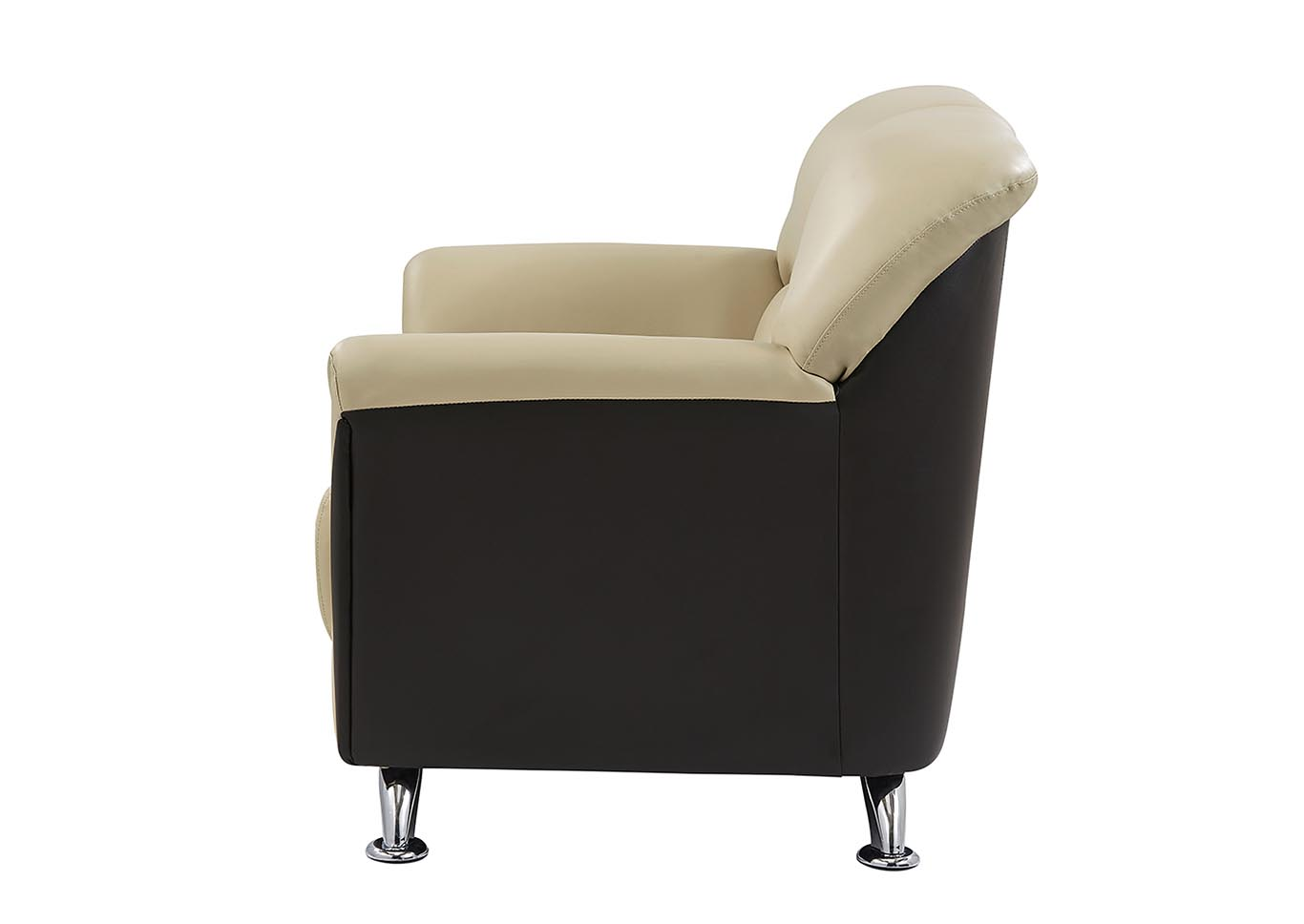 Cappuccino/Chocolate Loveseat,Global Furniture USA