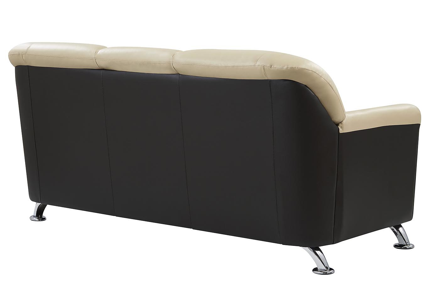 Cappuccino/Chocolate Sofa,Global Furniture USA