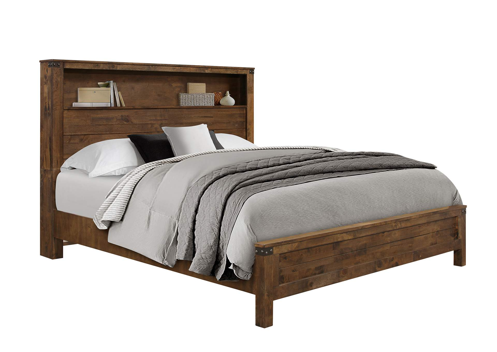 Victoria Queen Bed,Global Furniture USA
