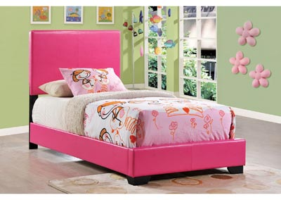 Pink Twin Bed,Global Furniture USA