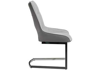 Image for Light Grey Dining Chair