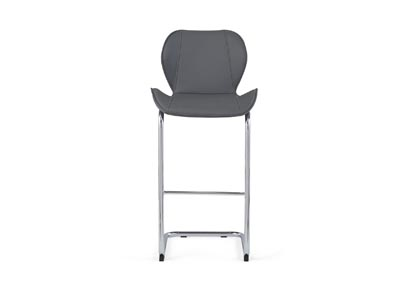 Grey Set Of 4 Barstools