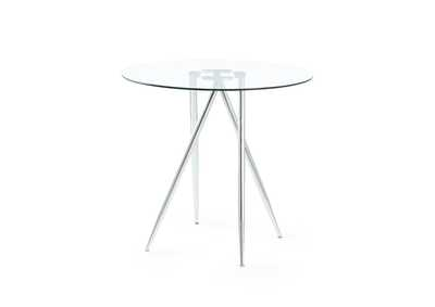 Chrome Bar Table,Global Furniture USA