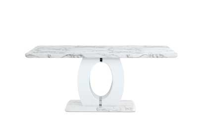 White Dining Table,Global Furniture USA