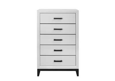 Kate White Chest,Global Furniture USA