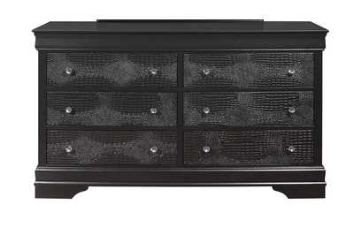 Pompei Metallic Grey Dresser