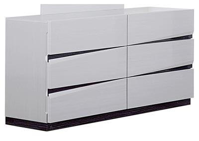 Scarlett Silverline/Zebra Grey Dresser,Global Furniture USA