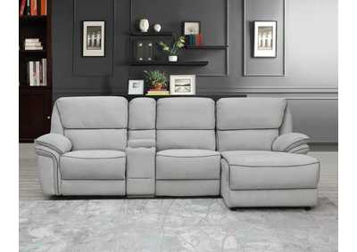 Image for Light Grey Sectional Pandora-3
