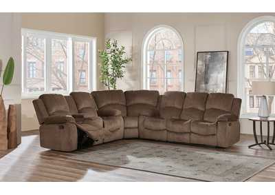 Image for Coffee 3 Piece Sectional