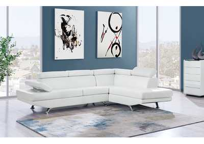 Image for White 2Pc Sectional