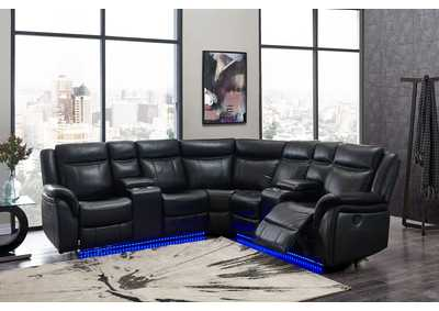 Image for Blanche Black Sectional
