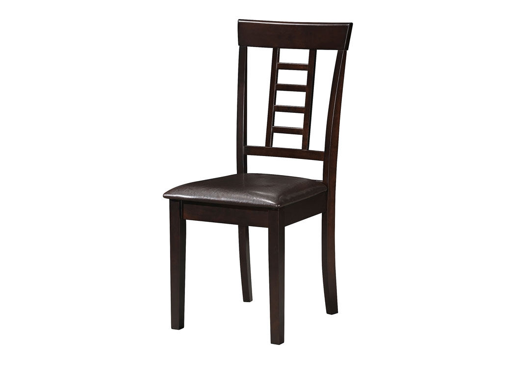 Cappuccino Chair (Set of 2),Glory Furniture