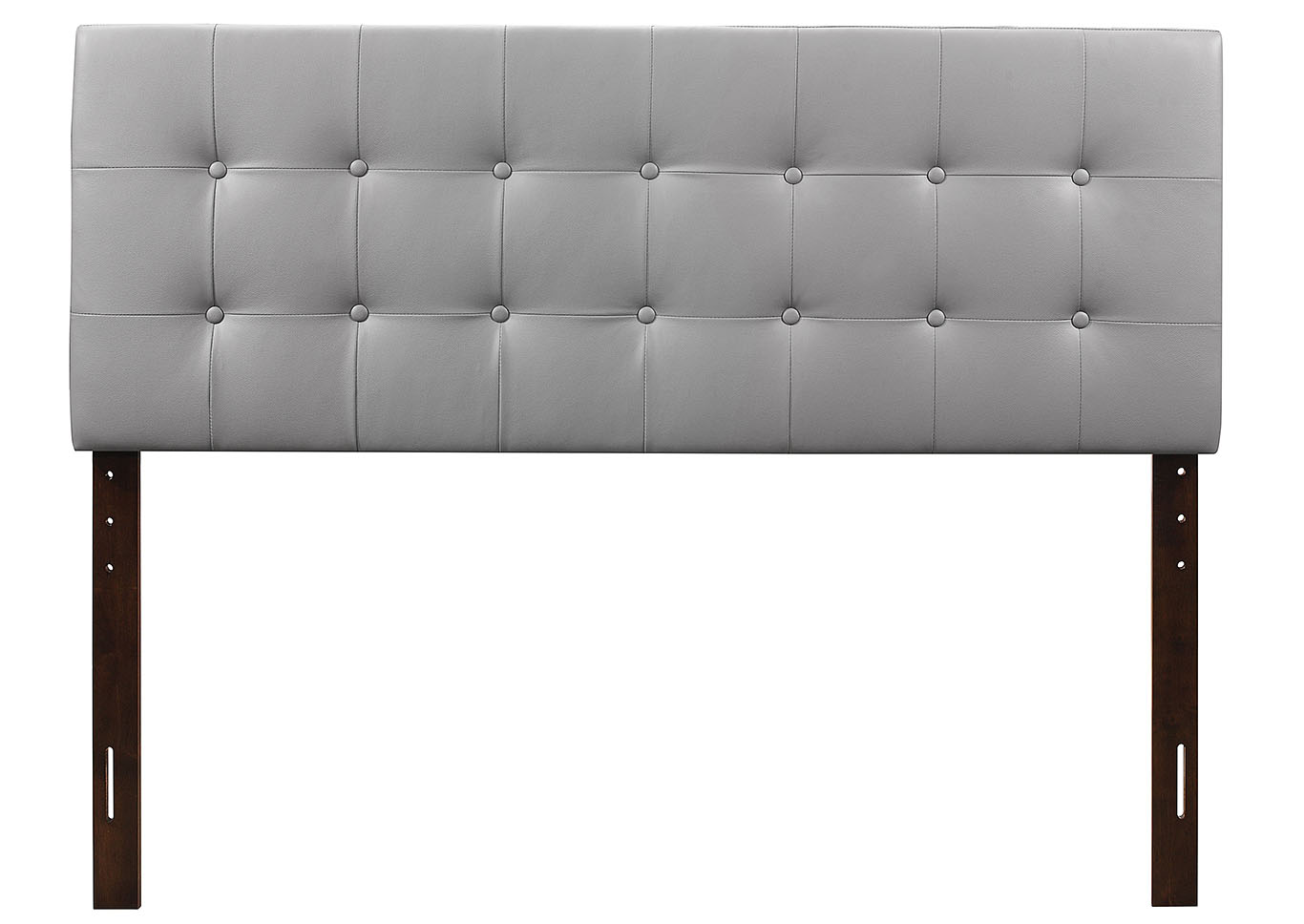 Light Gray Upholstered Full Headboard,Glory Furniture