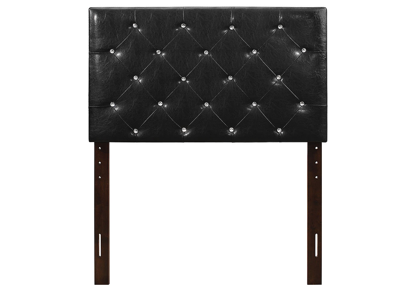 Black Upholstered Queen Headboard,Glory Furniture