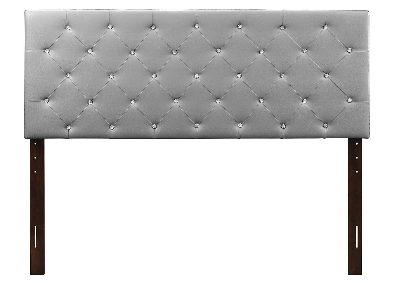 Light Gray Upholstered Twin Headboard,Glory Furniture