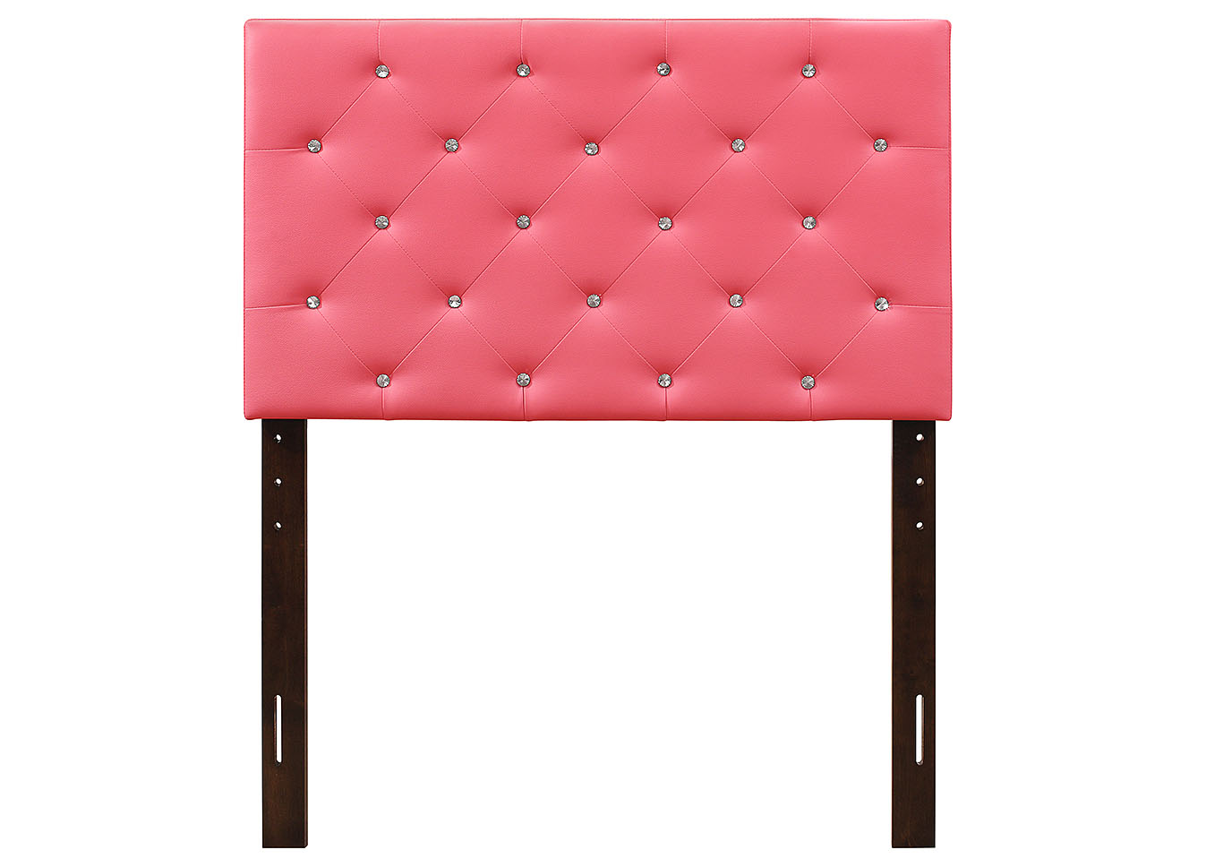Pink Twin Headboard,Glory Furniture