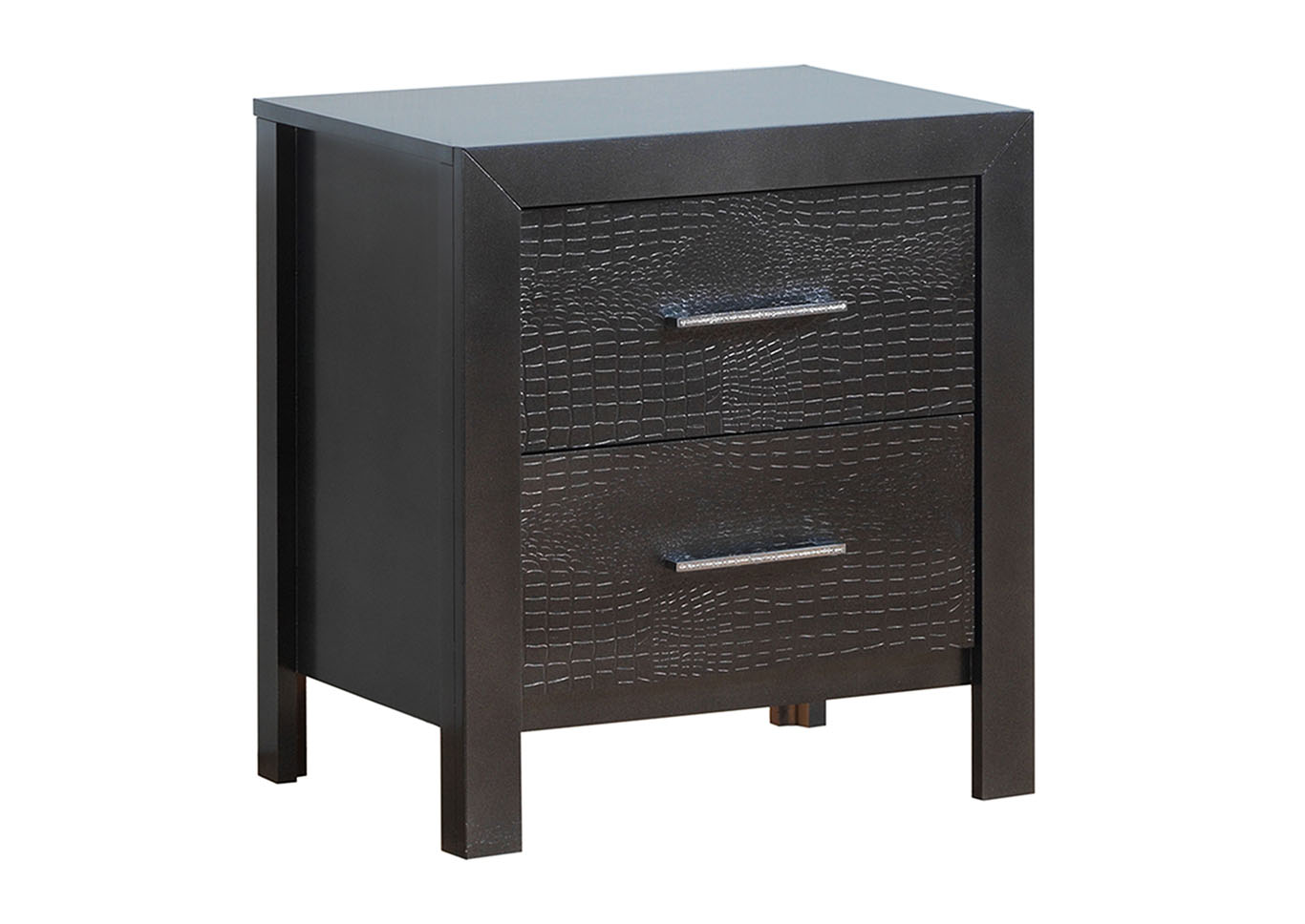 Black Nightstand,Glory Furniture