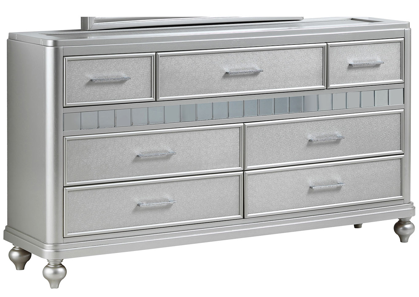 Silver Champagne Dresser,Glory Furniture