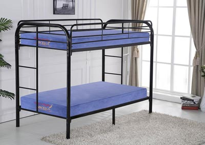 Image for Black Twin/Twin Bunkbed