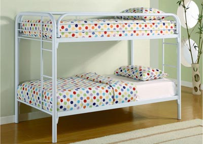 Image for White Twin/Twin Bunkbed