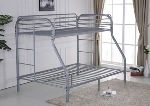 Image for Gray Twin/Twin Bunkbed w/ Bracket