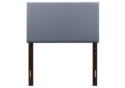 Blue King Headboard