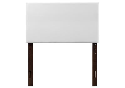 Image for White Twin Headboard