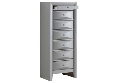 Image for Silver 7 Drawer Lingerie Chest