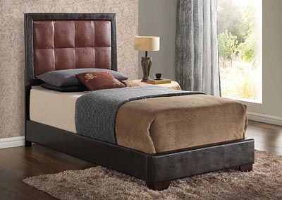 Brown Twin Bed