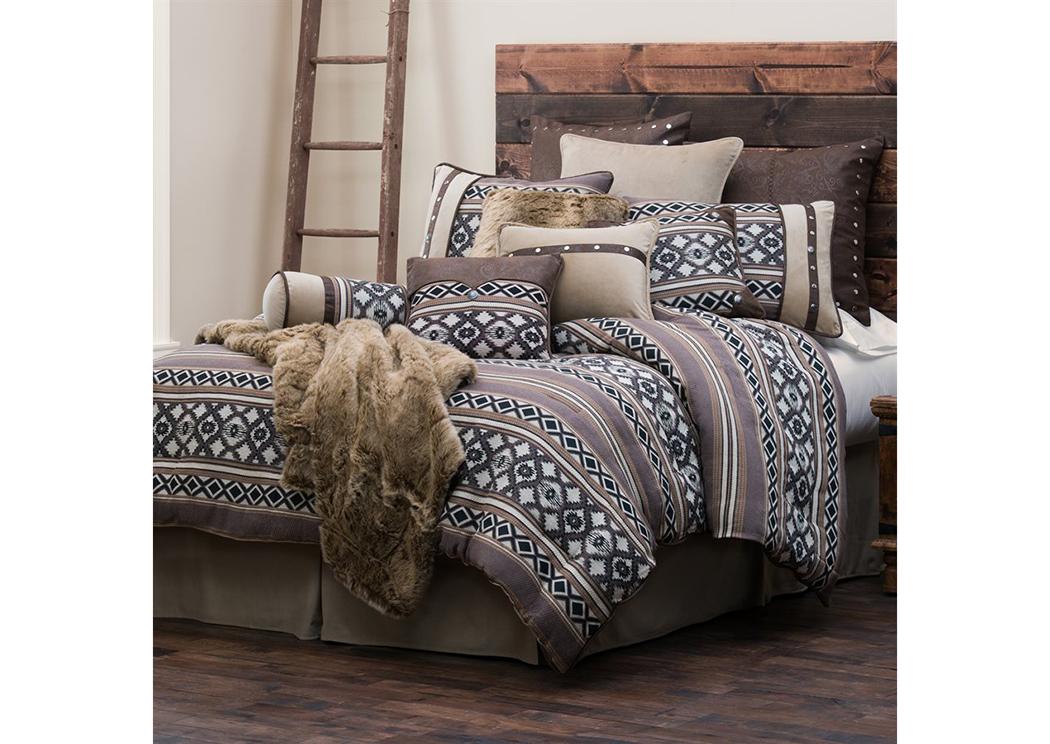 Tucson 5 Pc Navajo Geometric Pattern Super Queen Comforter Set Renaissance Philadelphia Pa