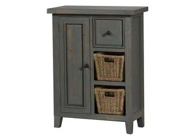 Image for Tuscan Retreat Coffee Cabinet w/2 Shelves and Baskets